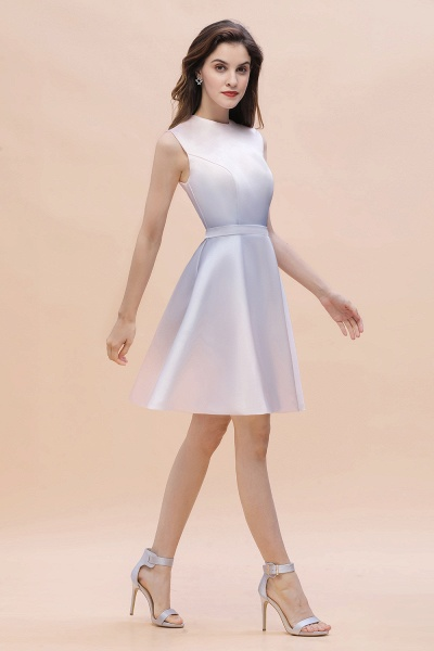 Elegant Gradient A-line Daily Casual Sleeveless Evening Party Dress_3