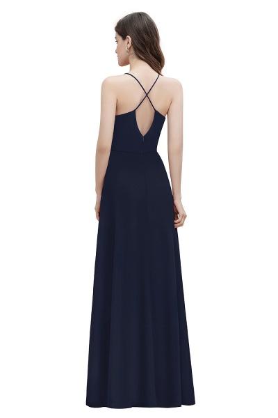 Straps Bateau A-line Sequins Chiffon Evening Prom Dress_13