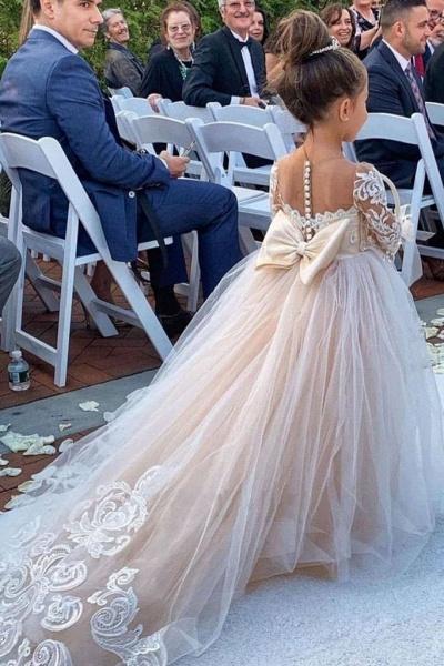 Boho Flower Girl Dresses for Wedding | Ship from USA_3