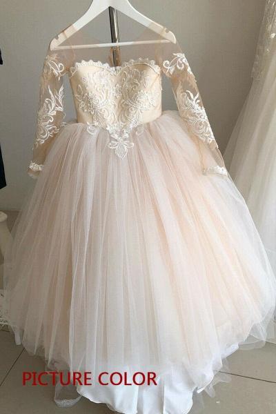Boho Flower Girl Dresses for Wedding   Ship from USA_2