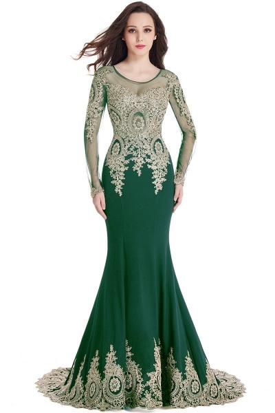Beautiful Jewel Stretch Satin Mermaid Prom Dress_9